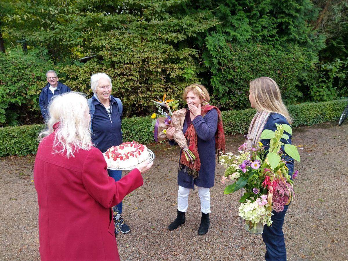 OTD 27-9-20 onderlinge dank met EH bloemen